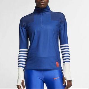 Nike L DriFit Tokyo Element Half Zip jacket